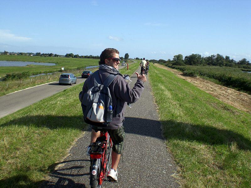 Hacia el norte de Ámsterdam. Mi primera vez
