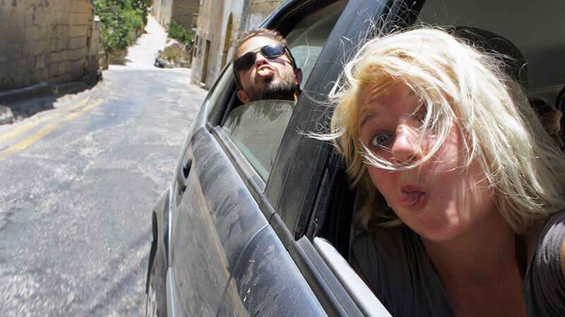 Alquiler de coche = gratis. Malta