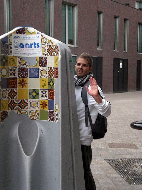 Baños callejeros. Eindhoven. Mi primera vez