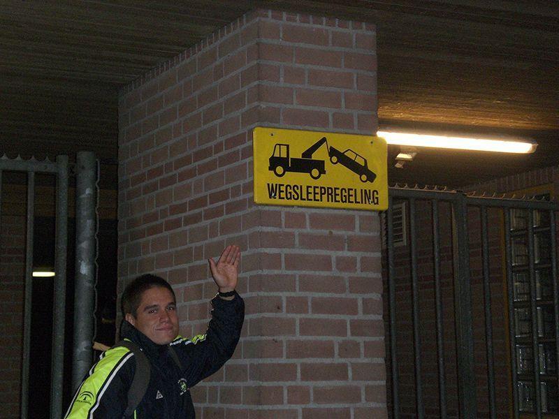 Primeros problemas con la lengua. Eindhoven. Mi primera vez