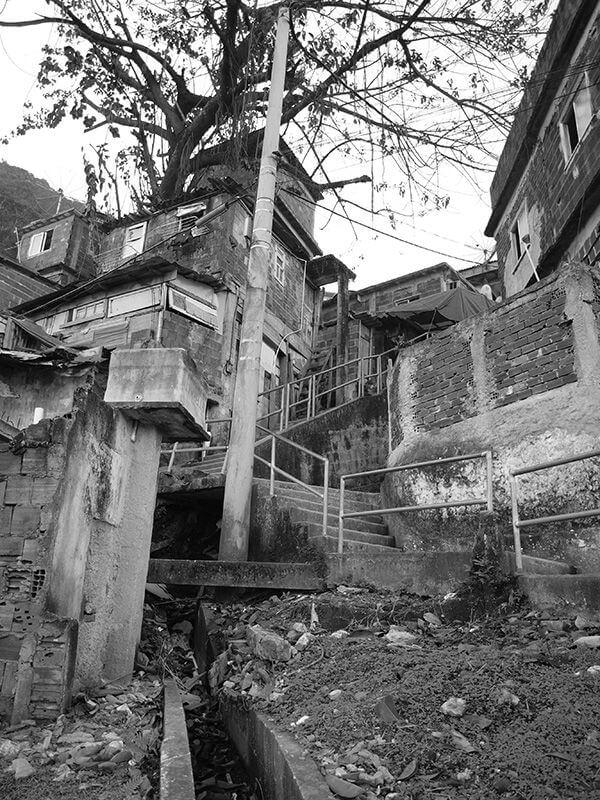 Las favelas de brasil. Santa Marta