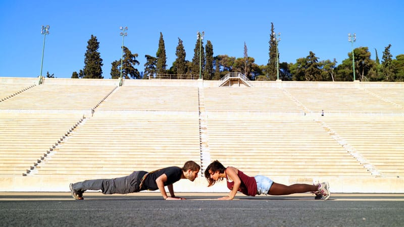 cómo mejorar tu cuerpo mientras viajas