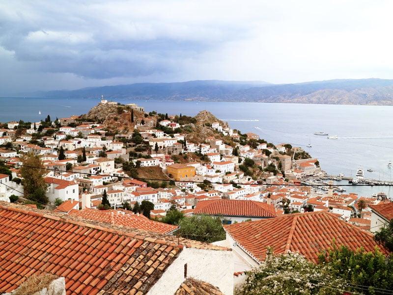 que ver en grecia isla de hydra