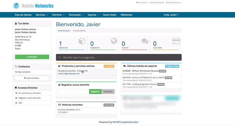 Instalar WordPress: comprar el hosting
