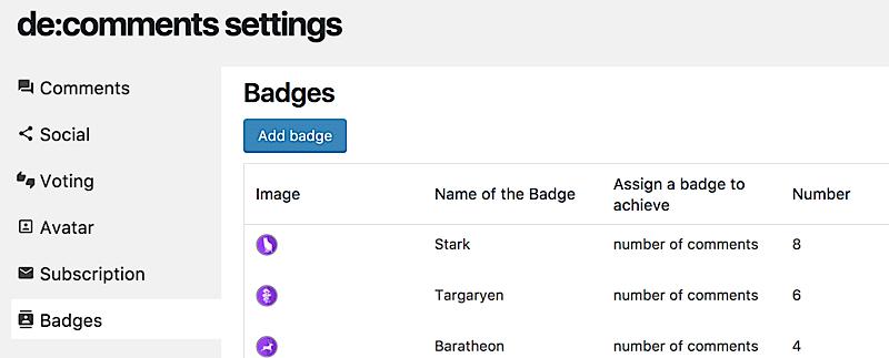 como aumentar comunidad blog badges