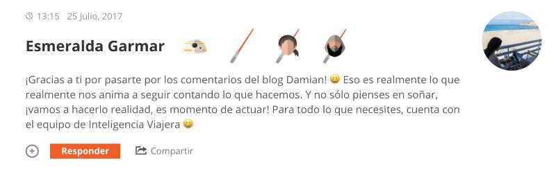 como aumentar comunidad blog esmeralda