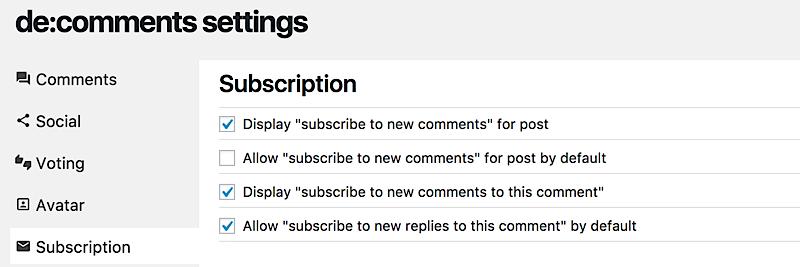 como aumentar comunidad blog subscription