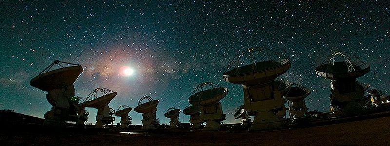 Desierto de Atacama de noche
