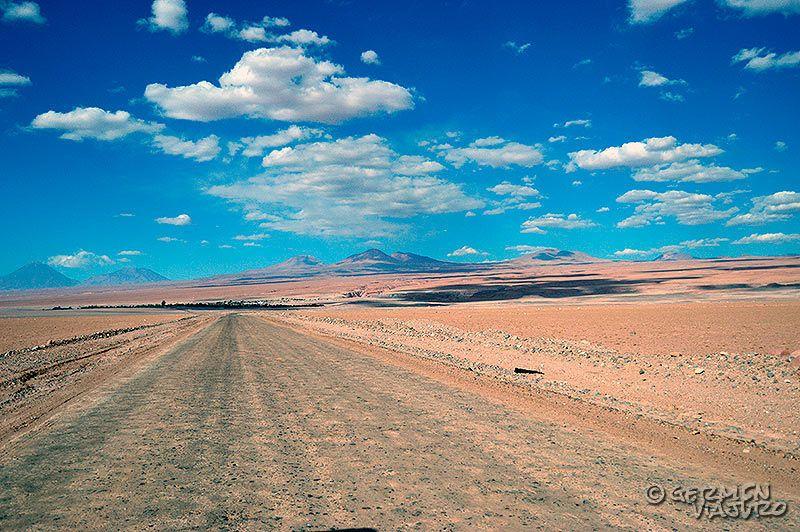 relieve del desierto de atacama