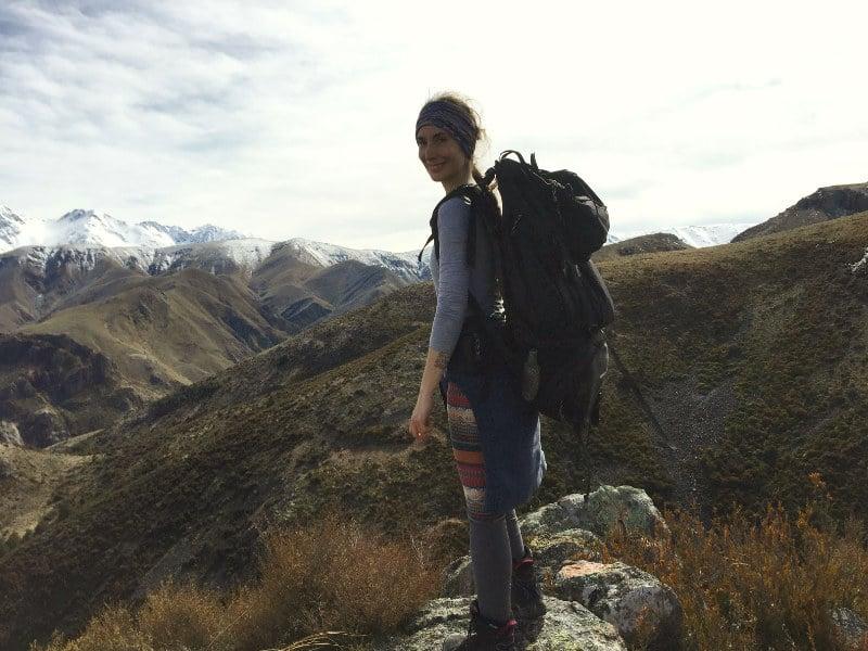 Mt Sommers hike nueva zelanda