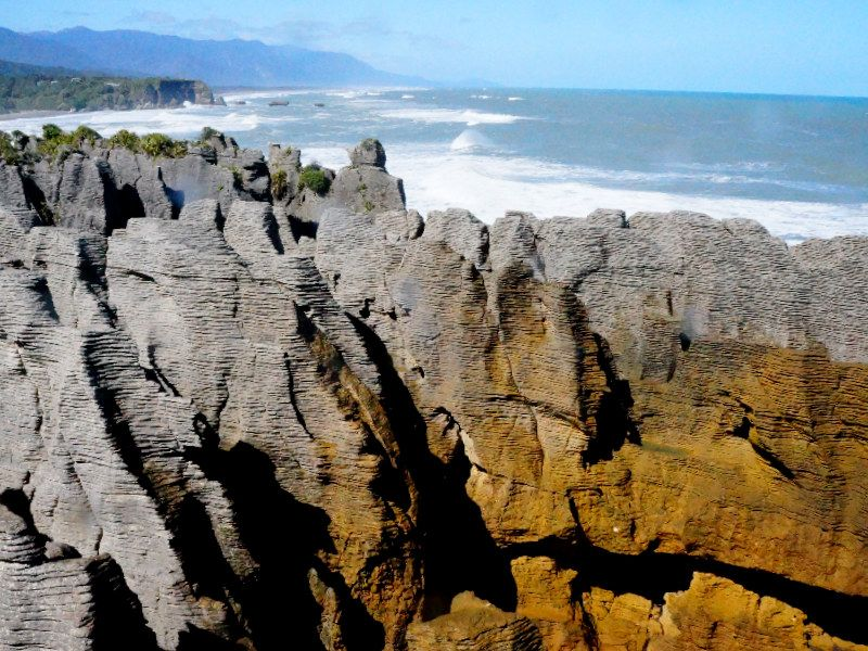 Pankake Rocks Nueva Zelanda