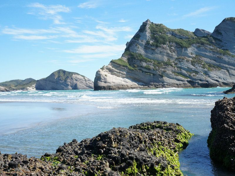 Wharariki-Beach Nueva Zelanda