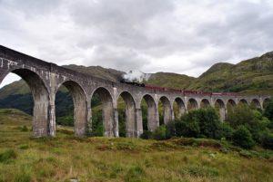 tren harry potter escocia