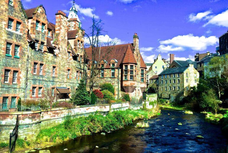 Que visitar en Edimburgo: Dean Village