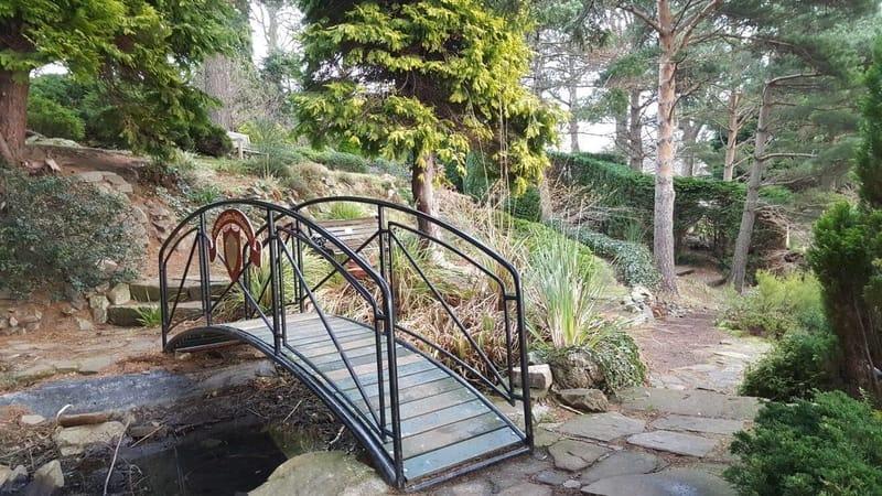 Jardín secreto de Edimburgo