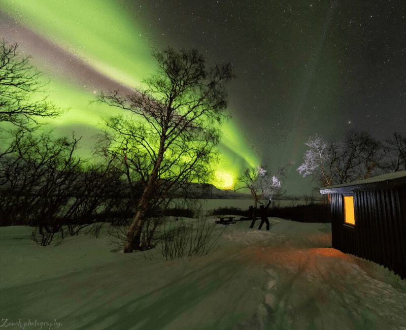 Aurora boreal época
