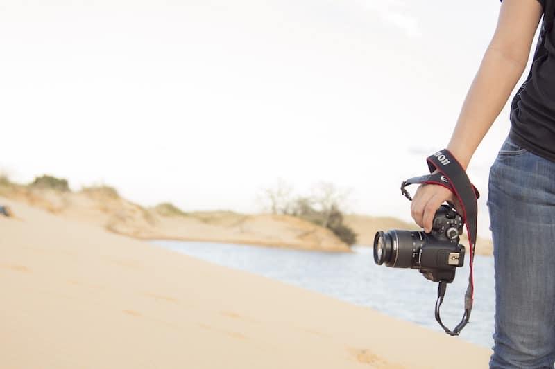 ser fotografo viajando