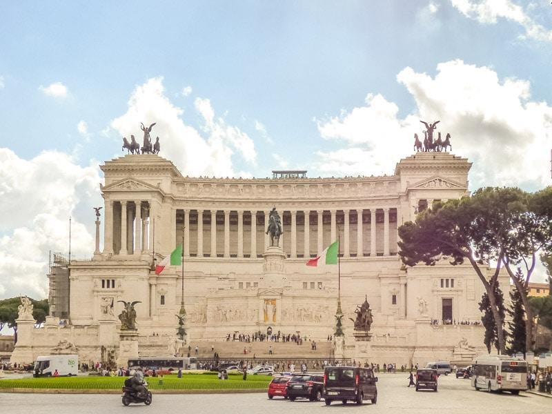 una de las visitas recomendadas en la guía para roma