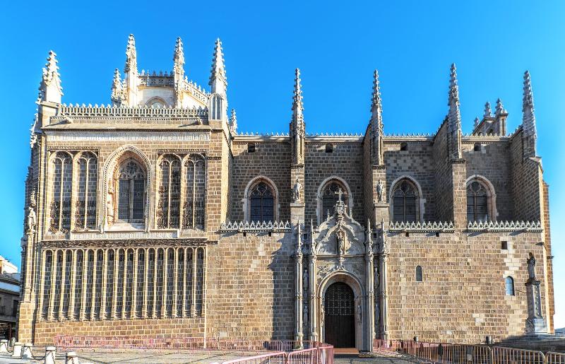 El Monasterio de San juan de los Reyes de Toledo es un lugar lleno de paz y silencio.