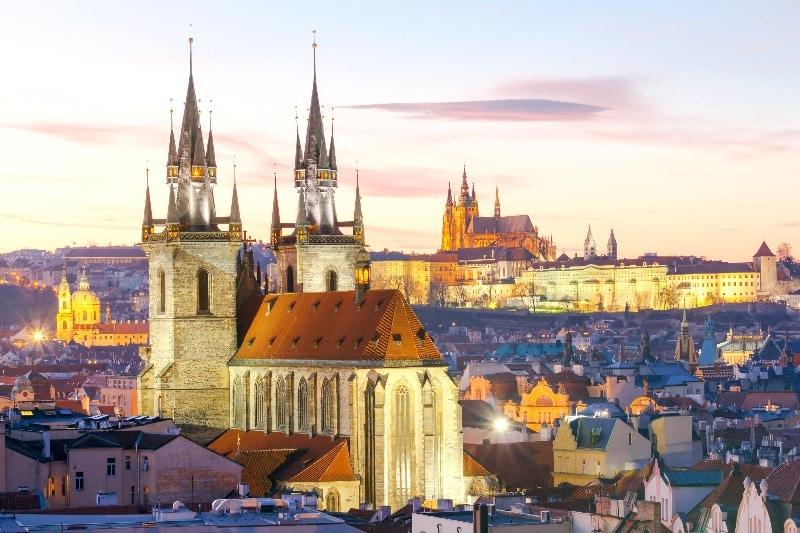 El impresionante Castillo de Praga.