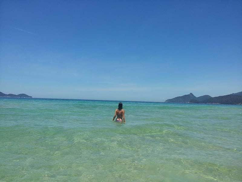 Playa Lopes Mendes, Ilha Grande, Brasil