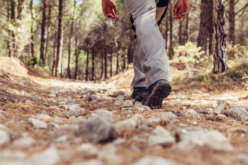 Calzado recomendado para hacer el camino de santiago