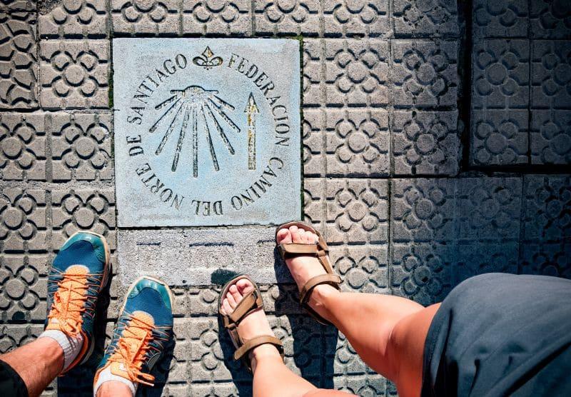 Unas zapatillas de trekking son el mejor calzado