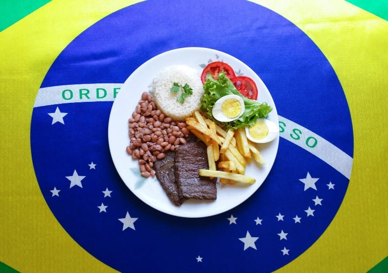 Comida típica de Brasil