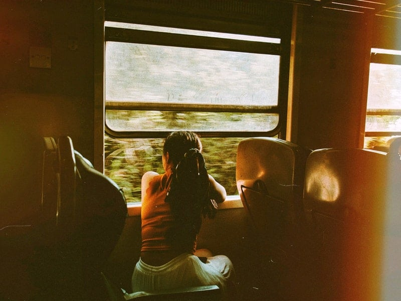 Utiliza el tren al hacer slow travel